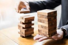 Стратегия планирования, риска и богатства в концепции дела, деле Стоковая Фотография RF