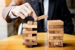 Стратегия планирования, риска и богатства в концепции дела, деле Стоковое Изображение RF
