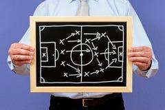 стратегия футбола менеджера Стоковые Фото