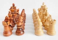 Стратегия шахмат: точки зрения стоковые фотографии rf