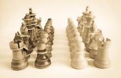 Стратегия шахмат: точки зрения стоковое изображение rf