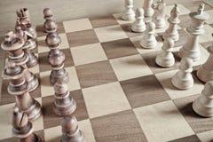 Стратегия шахмат: точки зрения Стоковая Фотография