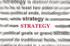 стратегия Стоковые Фотографии RF