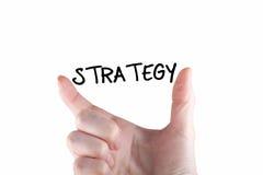 стратегия Стоковое Изображение RF