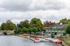 Стратфорд на Эвоне, Великобритании - 12-ое июля, мосте над a Стоковое Изображение RF