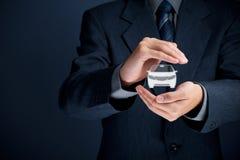 Страхование автомобилей Стоковые Фотографии RF