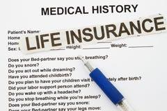 Страхование жизни Стоковые Фотографии RF