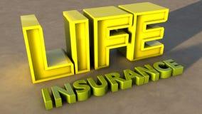Страхование жизни Стоковое Фото