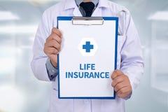 Страхование жизни Стоковое Изображение RF