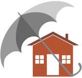 Страхование жилья иллюстрация вектора