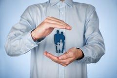 Страхование и политика семейной жизни Стоковая Фотография RF