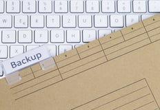 Страхование клавиатуры и папки Стоковые Изображения