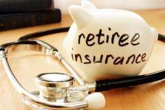 Страхование пенсионера Стоковое Изображение RF