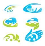 страхований легковых автомобилей Стоковая Фотография