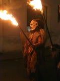 Страховитая маска дьявола Стоковая Фотография