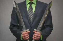 Страховой инспектор финансов Концепция агента безопасности Стоковое Изображение