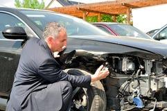 Страховой инспектор. стоковое изображение