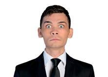 Страх бизнесмена Стоковое фото RF