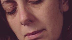 Страх, одиночество, депрессия, злоупотребление Стоковое Изображение