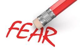 Страх стирания (включенный путь клиппирования) иллюстрация штока
