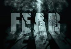 страх бесплатная иллюстрация