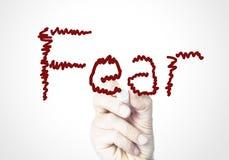 страх Стоковые Изображения