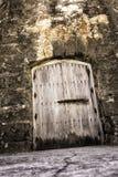 Страшная дверь подземелья Стоковое Изображение RF