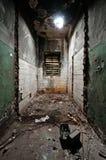 Страшная и пустая комната Стоковое Фото