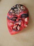 Страшная маска для партии хеллоуина Стоковые Изображения RF