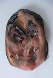 Страшная маска для партии хеллоуина Стоковое Изображение