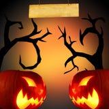 Страшная предпосылка Halloween Стоковые Фотографии RF