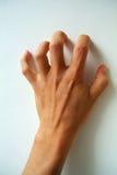 Страшная, пугающая рука Стоковые Изображения RF