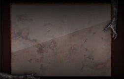 Страшная смерть хеллоуина вручает предпосылку Стоковое Изображение RF