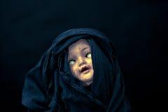 Страшная сторона куклы Стоковые Изображения RF