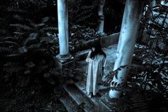 Страшное привидение женщины Стоковая Фотография RF