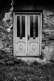 Страшные двери Стоковые Фото