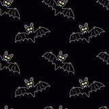 Страшные летучие мыши Стоковое Изображение