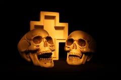 Страшные черепа Стоковые Изображения RF