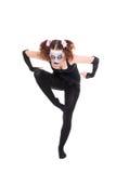 Страшный артист балета представляет Стоковые Фотографии RF