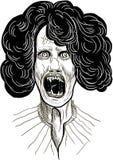 Страшный вампир бесплатная иллюстрация