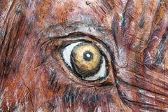 Страшный глаз Стоковая Фотография RF