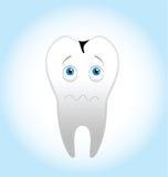 страшный зуб Стоковые Фотографии RF