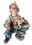 Страшный клоун изверга Стоковые Фотографии RF
