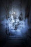 Страшный переулок Стоковые Фото