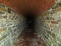 страшный тоннель Стоковые Фотографии RF