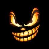 Страшный фонарик Jack o Стоковое Изображение RF
