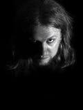 Страшный человек Стоковое Изображение RF