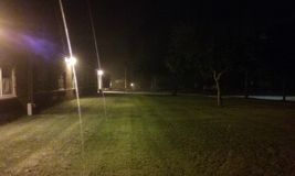 Страшный nighttime стоковая фотография rf