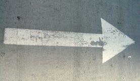 стрелка Стоковая Фотография
