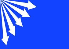 стрелки вытекая Стоковое фото RF